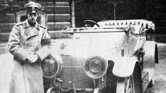 Великий князь Дмитрий Павлович (апрель 1910 года)