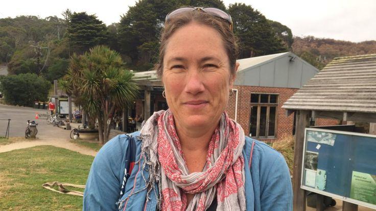 Wye River resident Karen Hogg