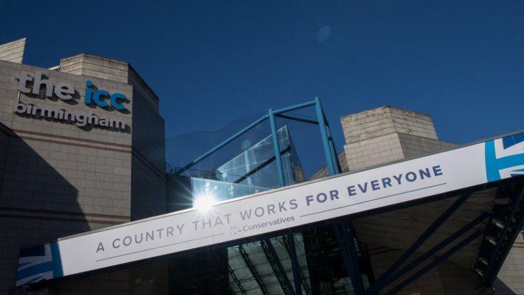 Sede de la Conferencia de Partido Conservador en Birmingham