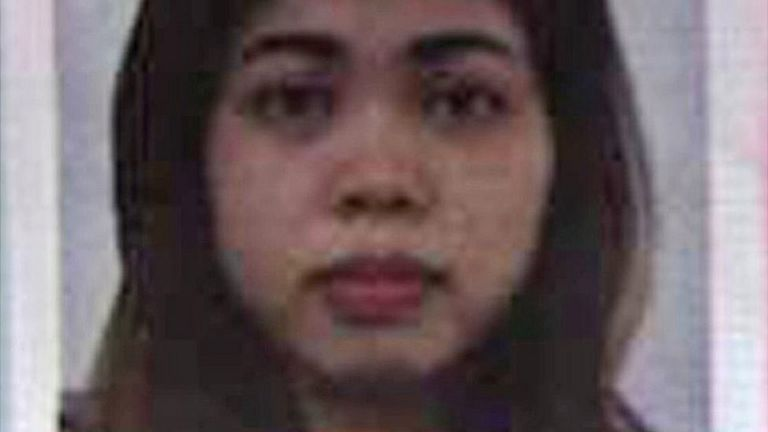 Ảnh hộ chiếu cô Siti Aisyah, người phụ nữ Indonesia bị bắt vì nghi vấn liên quan đến vụ ám hại ông Kim Jong-nam.