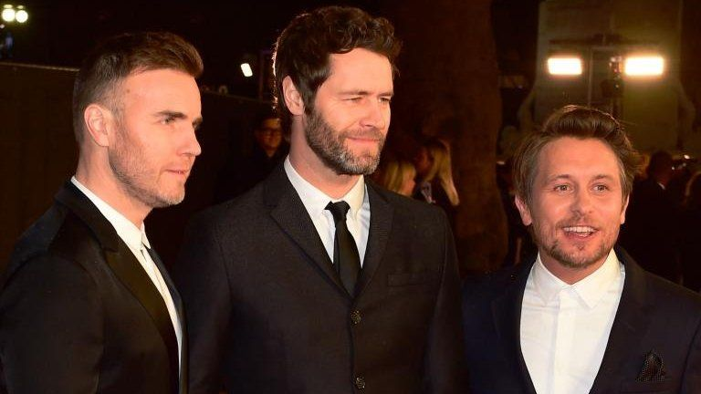 Mark Owen, Howard Donald and Gary Barlow - Take That