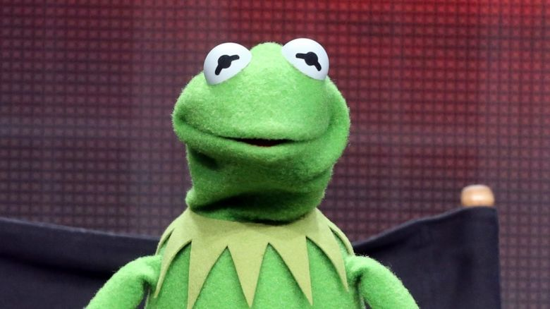 This is a photo of Kermit the Frog