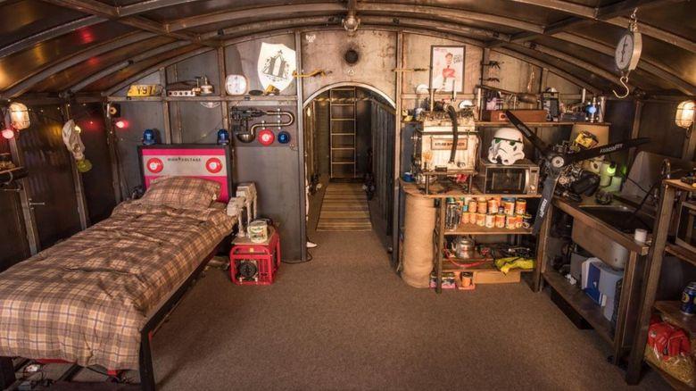Colin Furze's bunker
