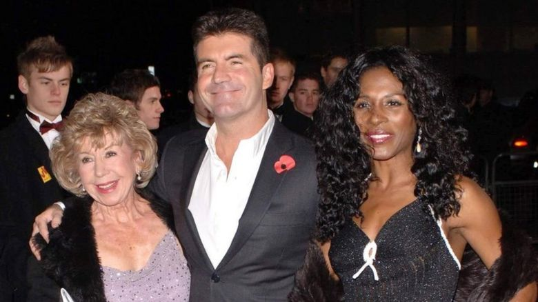 Julie and Simon Cowell