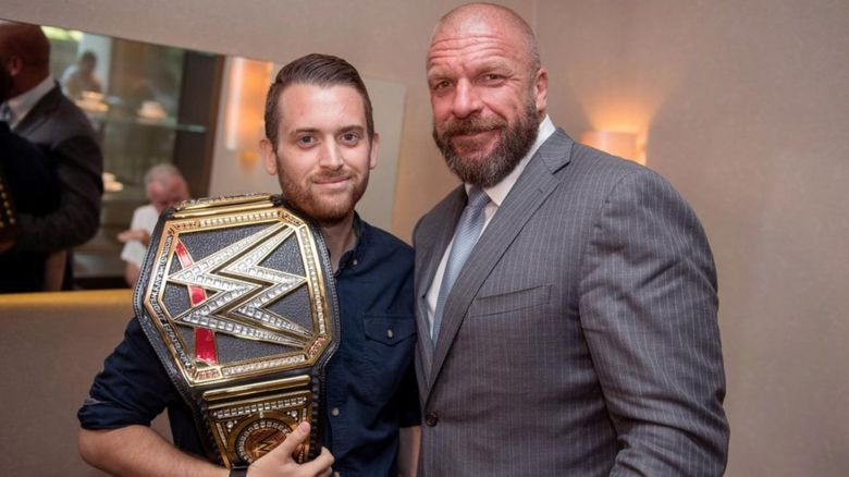 Charlie Guenigault and Triple H