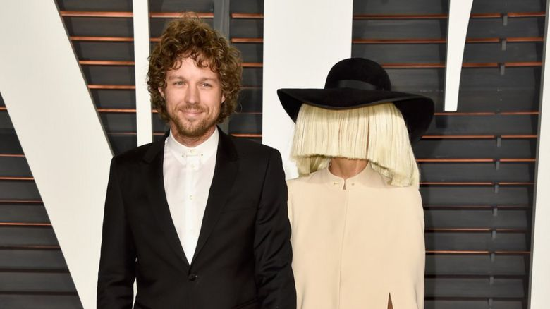 This is a photo of Sia and her husband Erik Anders Lang.