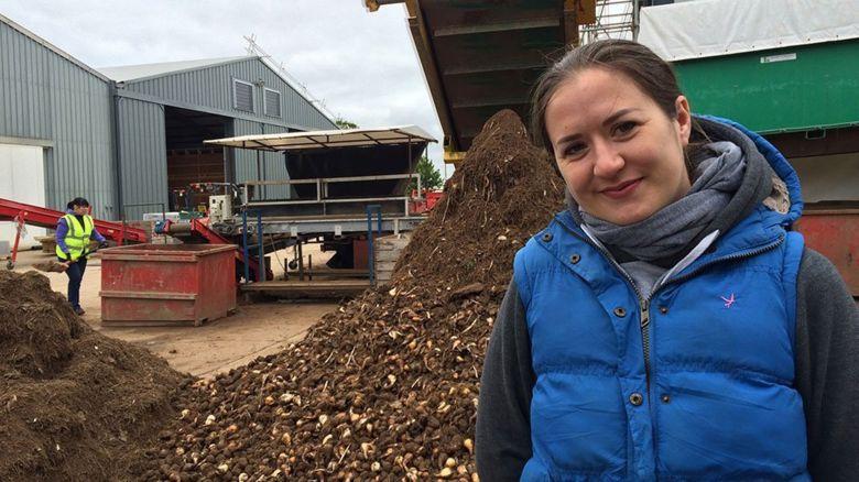 Latvian Olga Pekuskiena has worked in the UK for seven years