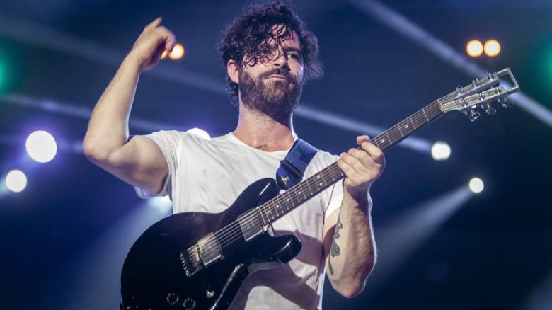Yannis from Foals