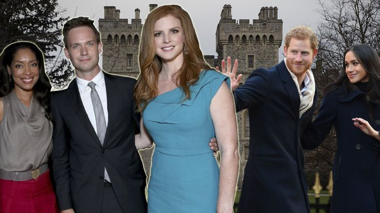 Suits cast Royal Wedding