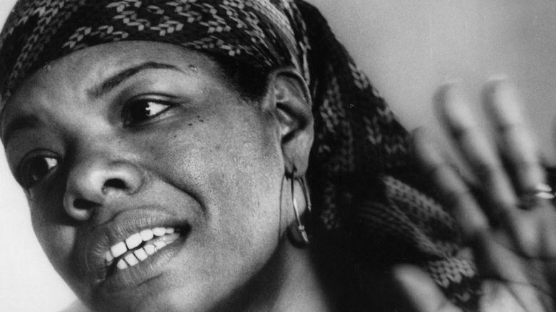 A young Maya Angelou