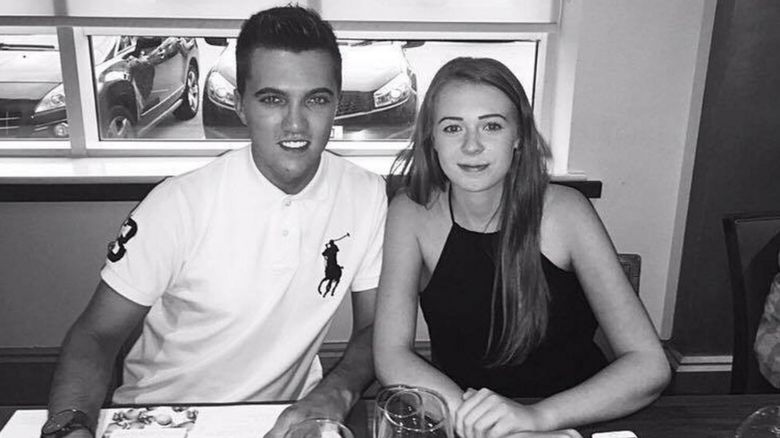 Joe Pugh and Leah Washington
