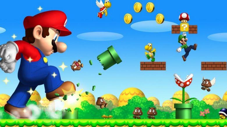 Super Mario screen grab