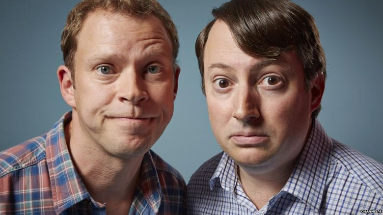 Robert Webb and David Mitchell