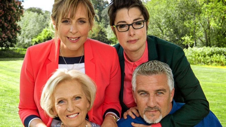 Bake Off presenters