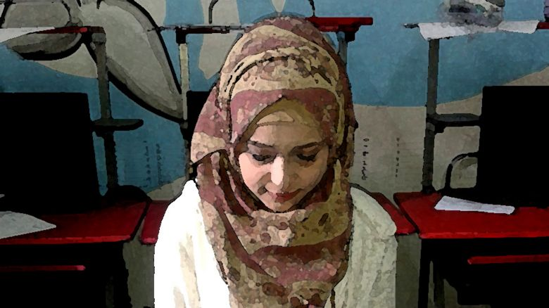 Maya, a Syrian refugee now living in Egypt