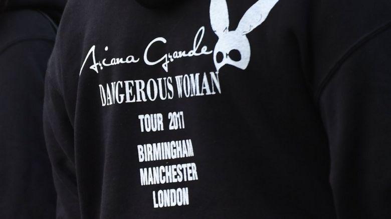 Ariana Grande tour jumper