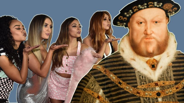 Henry VIII and Little Mix