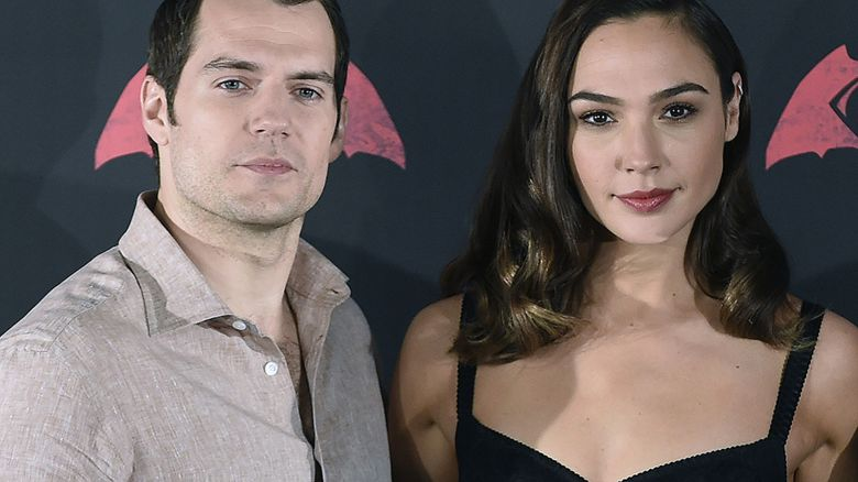 Henry Cavill and Gal Gadot