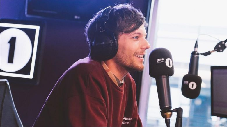 Louis on Radio 1