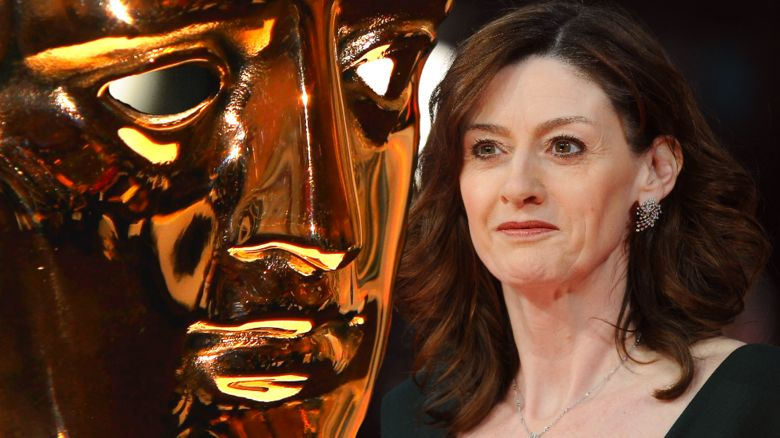 Amanda Berry and the Bafta mask