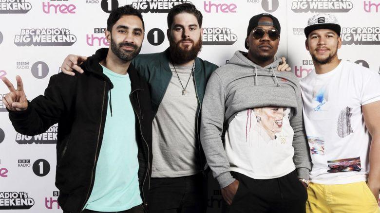 Rudimental at Radio 1's Big Weekend