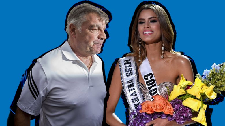 Allardyce and a beauty queen