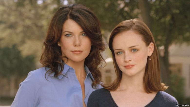 Gilmore Girls publicity photo