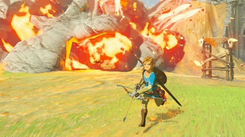 A screenshot shot from a Zelda game