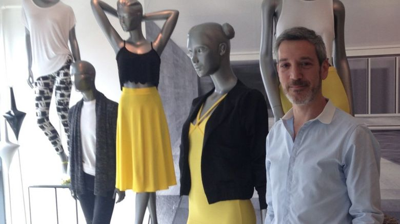 Jonathan and mannequins