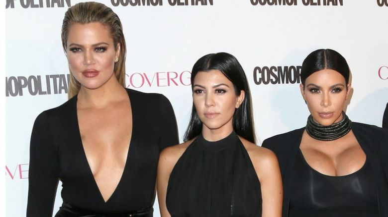 Kardashian West and Khloe and Kourtney Kardashian