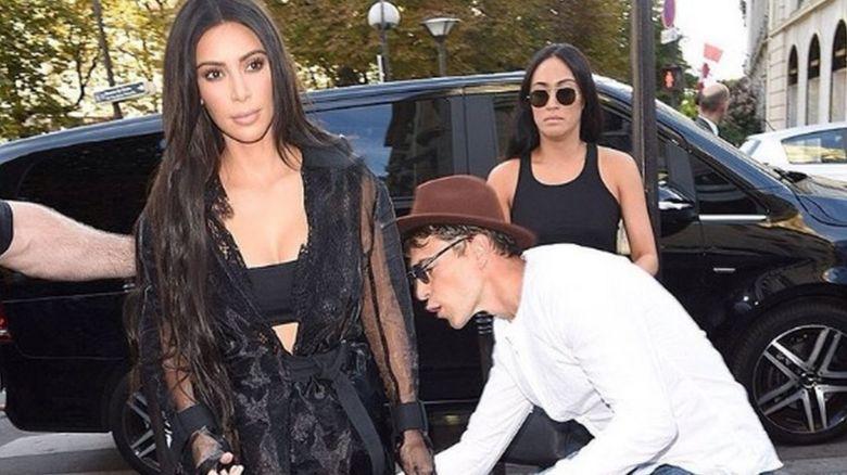 Vitalii Sediuk and Kim Kardashian