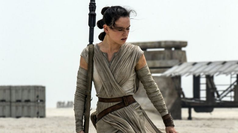 British actress Daisy Ridley plays Rey