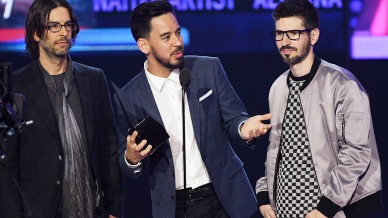 Linkin Park at the American Music Awards 2017