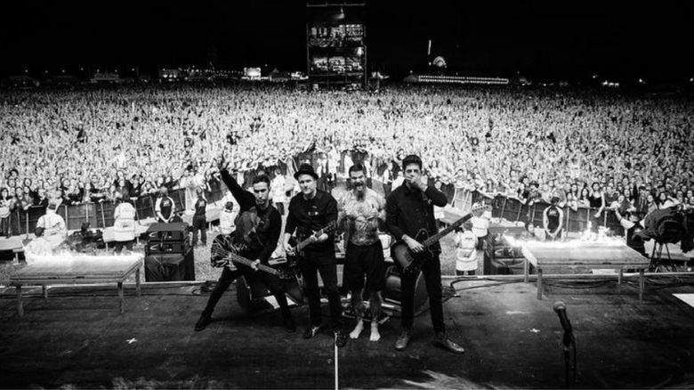 Fall Out Boy at Leeds festival