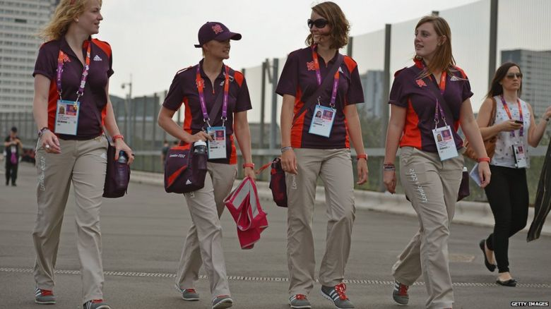 Many people who worked at the Olympics were doing it for free