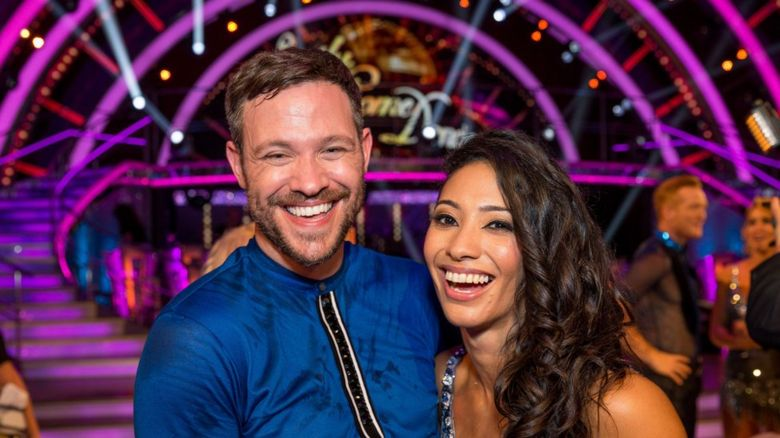 Will Young and his dance partner
