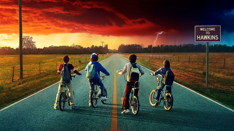 Stranger Things TV show poster