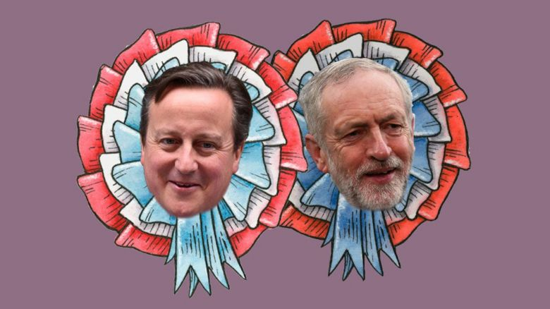 David Cameron and Jeremy Corbyn