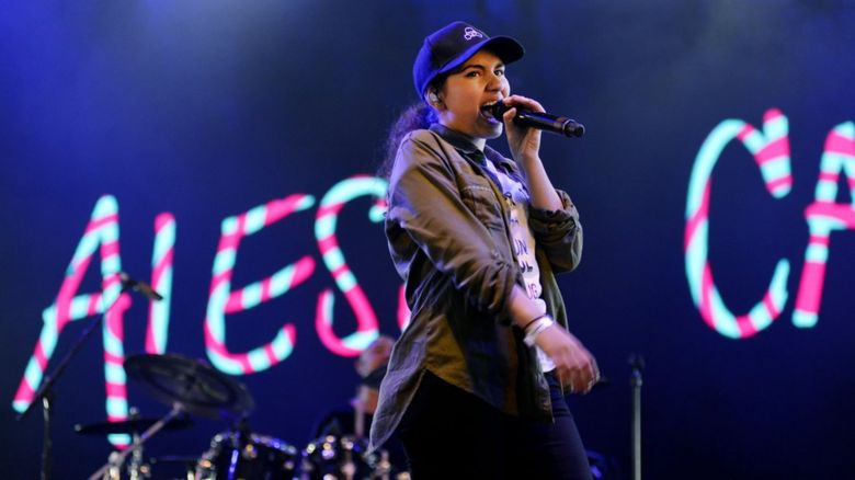 Alessia Cara performing