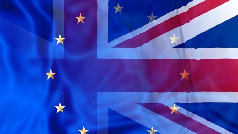 EU and Union flag merged