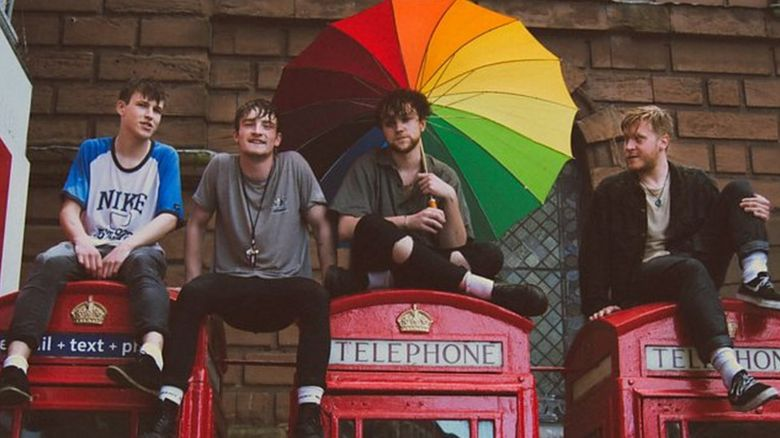 The four members of Viola Beach