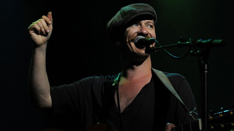 Foy Vance performing on stage
