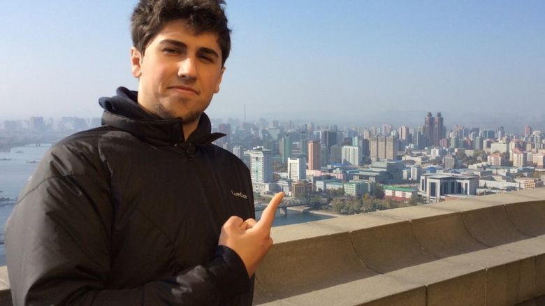 Alessandro Ford in North Korea