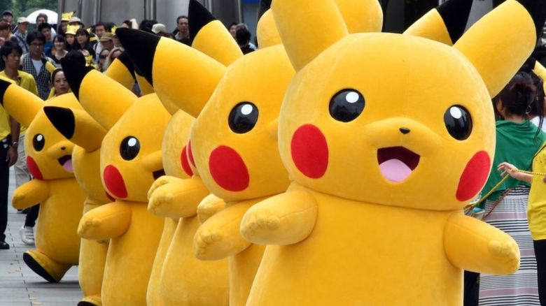 Pikachu Mascots
