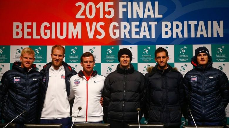 British Davis Cup team 2015 final