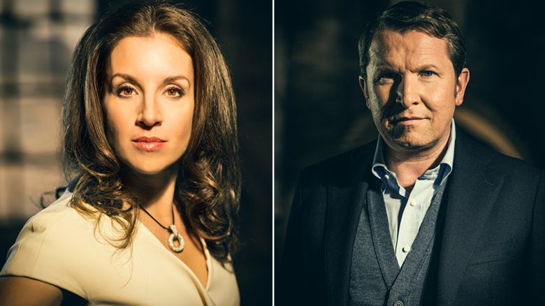 Sarah Willingham and Nick Jenkins