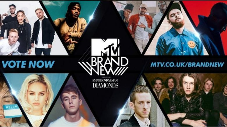 MTV Brand New list