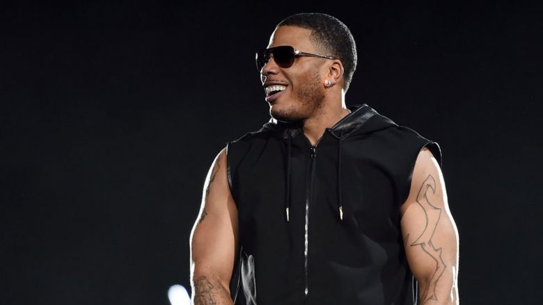Nelly performs at the Mandalay Bay Events Center in Las Vegas, Nevada