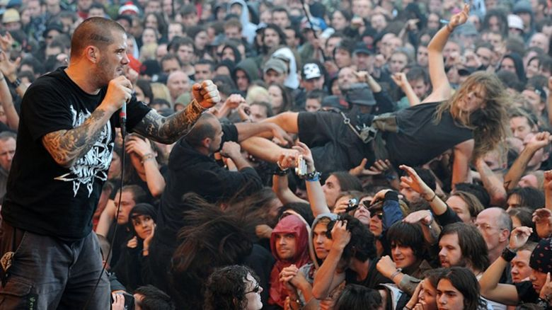 Phil Anselmo from Down