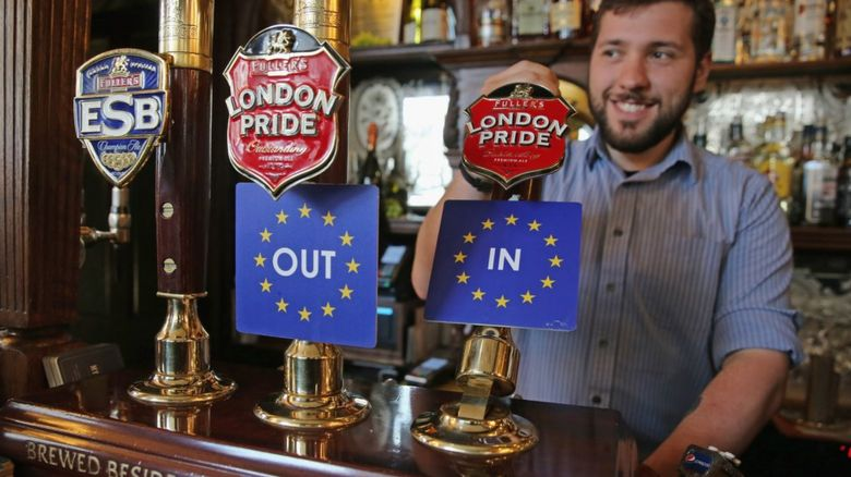 European Union beer pumps